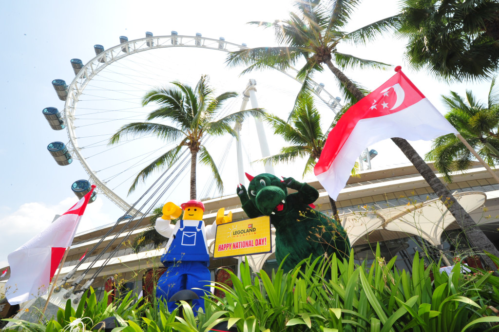 LEGOLAND® MASCOTS JOIN NATIONAL DAY CELEBRATIONS WITH ...