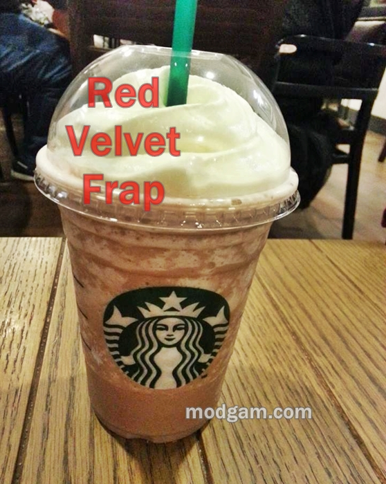 Red Velvet Cake Creme Frappuccino Review