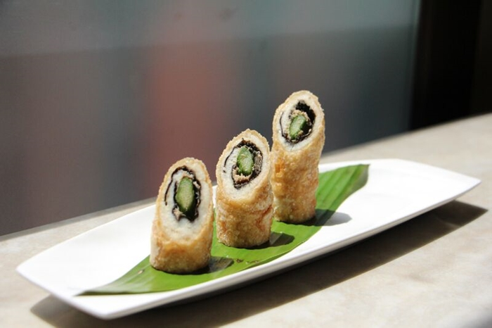 Fatty Weng - Crispy Fried Barramundi with Asparagus