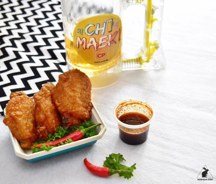 CP Crispy Chicken with Korean Hot and Spicy Sauce