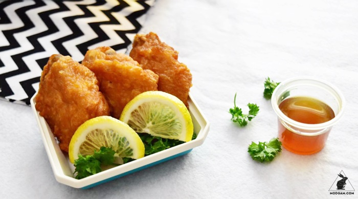 CP Crispy Chicken with Honey Lemon Sauce