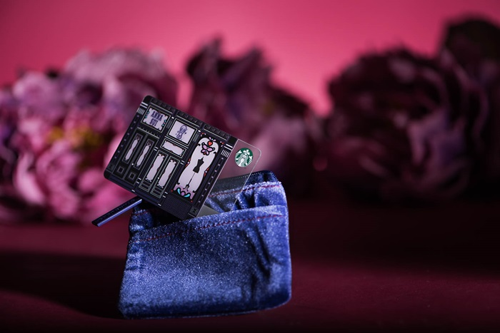 Anna Sui x Starbucks-« Card Set - $30